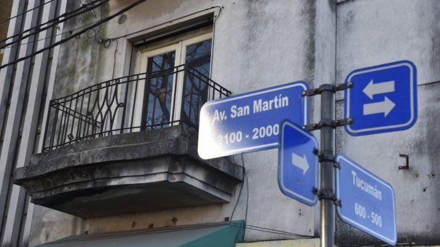 Una de las tragedias ocurrió en un edificio de avenida San Martín 2020 de San Lorenzo