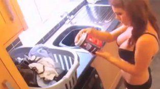 Mirá lo que hace esta empleada doméstica cuando nadie la ve