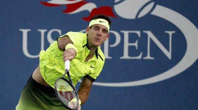 Del Potro le ganó a Ferrer y pasó a los octavos del US Open