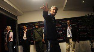 La Selección arribó a Venezuela para el choque por las Eliminatorias