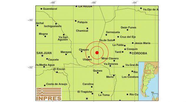 Fuerte sismo entre Córdoba y La Rioja