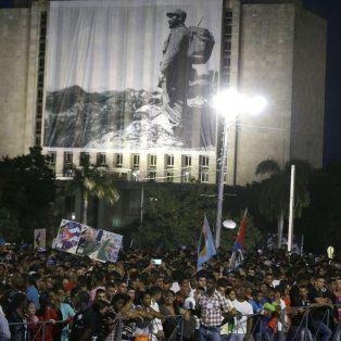 millones de personas en la despedida a fidel castro en la plaza de la revolucion