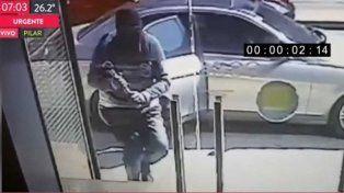 En 30 segundos robaron 750.000 pesos de un banco