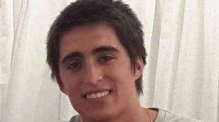 El joven rionegrino de 23 años estudiaba en Bahía y desapareció en julio de 2015.