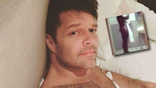 Ricky Martin subió una foto en la que está desnudo y las redes explotaron