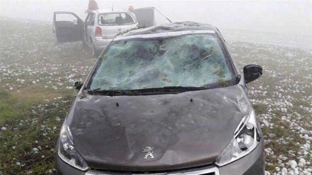 Más fotos de los destrozos que produjo el granizo en Corrientes