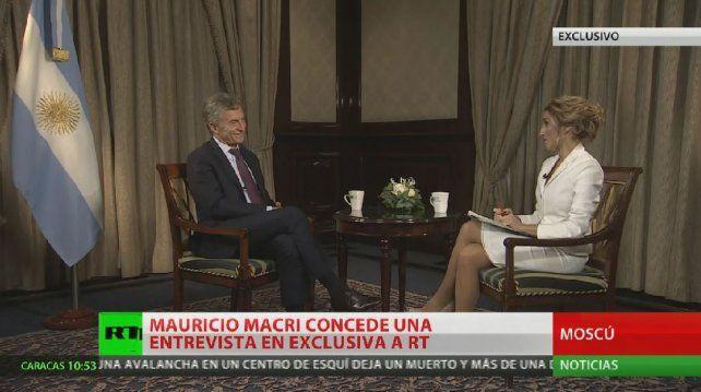 Macri reconoció que hoy dependemos del crédito externo