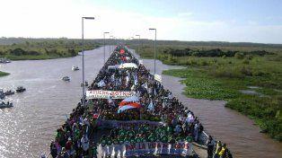 Gualeguaychú vuelve a marchar contras las pasteras