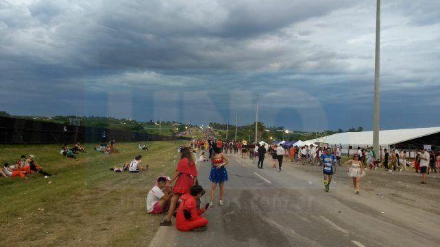 #FDD2019: Más de 200 asistidos en la carpa sanitaria y derivaciones al hospital