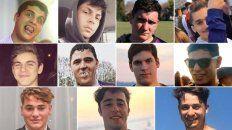 los 11 rugbiers acusados de asesinar a golpes a un joven de 18 anos en villa gesell