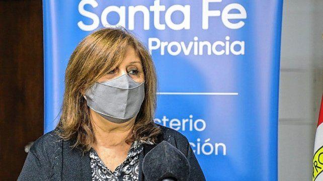 Adriana Cantero, ministra de Educación de la provincia