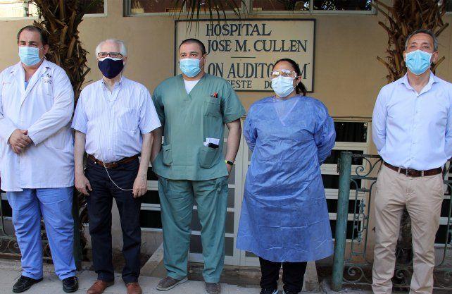Este martes inicio la campaña de vacunación contra el COVID-19 la Región Salud Santa Fe.