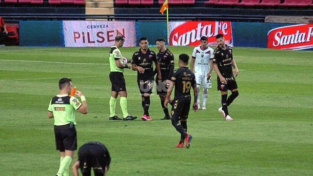 Colón pretende ponerle candado a su arco visitando este martes a Arsenal por la 11ª fecha de la Liga profesional. UNO Santa Fe   José Busiemi