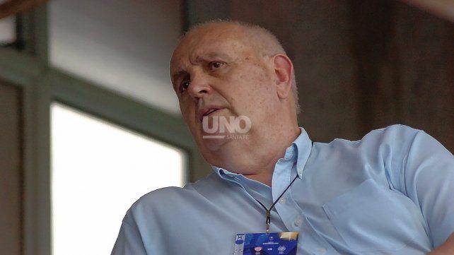Luis Spahn, presidente de Unión, derrochó confianza de cara al Clásico Santafesino del fin de semana. UNO Santa Fe   José Busiemi