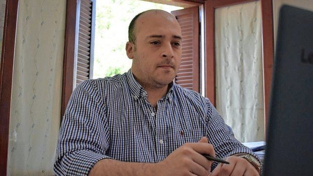 """El diputado Sergio """"Checho"""" Basile"""