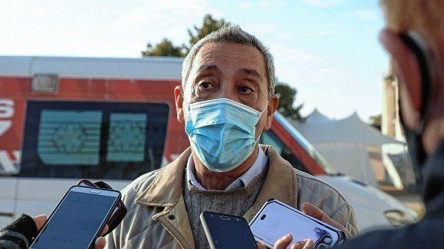 El secretario de Salud, Jorge Prieto
