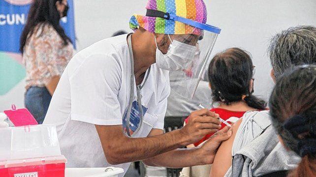 Vacunación en la ciudad de Santa Fe